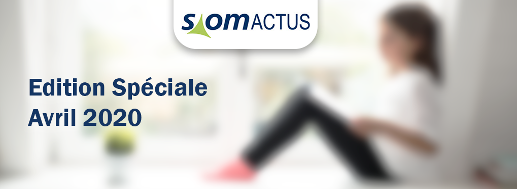 Newsletter SiomActus Edition Spéciale Avril 2020