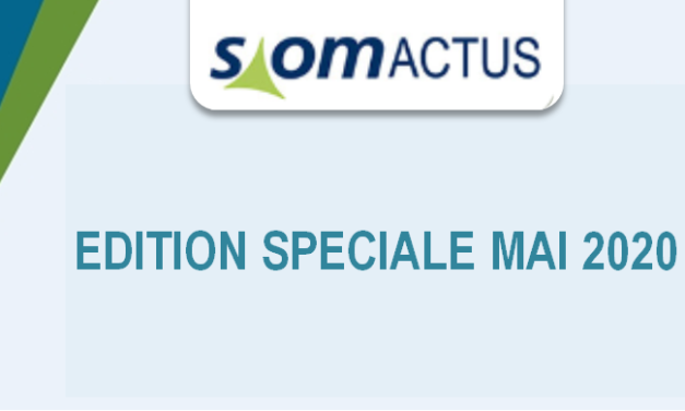 SiomActus – Edition Spéciale – Mai 2020