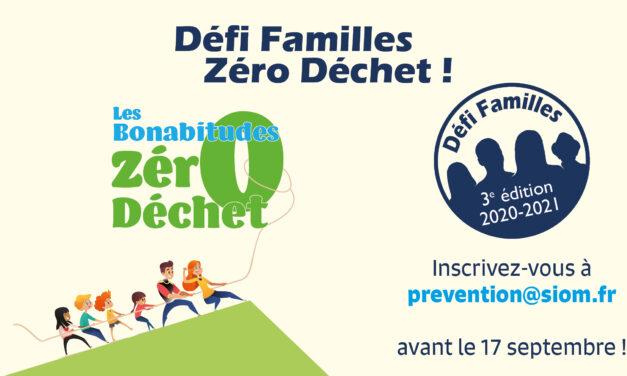 3e édition du Défi Familles Zéro Déchet